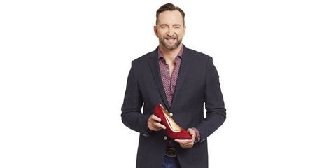 Clinton Kelly with Shoes