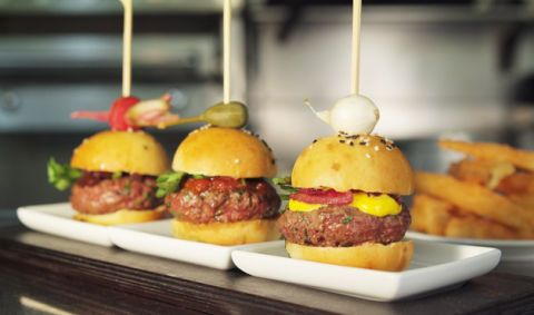 10 Mighty Mini-Burgers