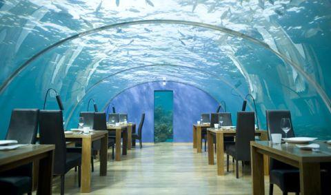 hydropolis underwater resort hotel. In April 2005, This Ever-so Innovative Dining Establishment At The Conrad Maldives Rangali Island Resort Opened As World\u0027s First All-glass Underwater Hydropolis Hotel -