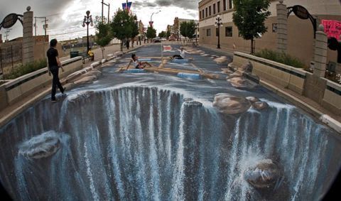 Thrilling 3D Street Art