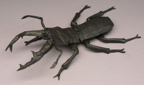 Known As One Of The Pioneers Cross Disciplinary Marriage Origami And Mathematics Artist Robert J Lang Composed Folded This 5 Arthropod