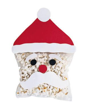 Popcorn Santa Arts And Crafts