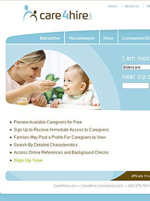 people looking for babysitters