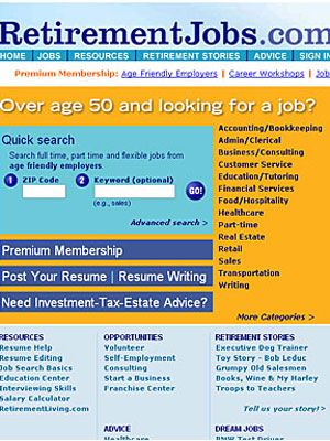 Over 50 Job Search Website Recommendations at WomansDaycom