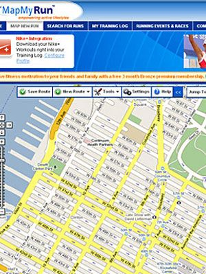 Map Your Running Route Websites at WomansDay.com - Running ... Map Mdn on