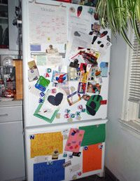 How to Organize Your Fridge Door at WomansDay com - Kitchen