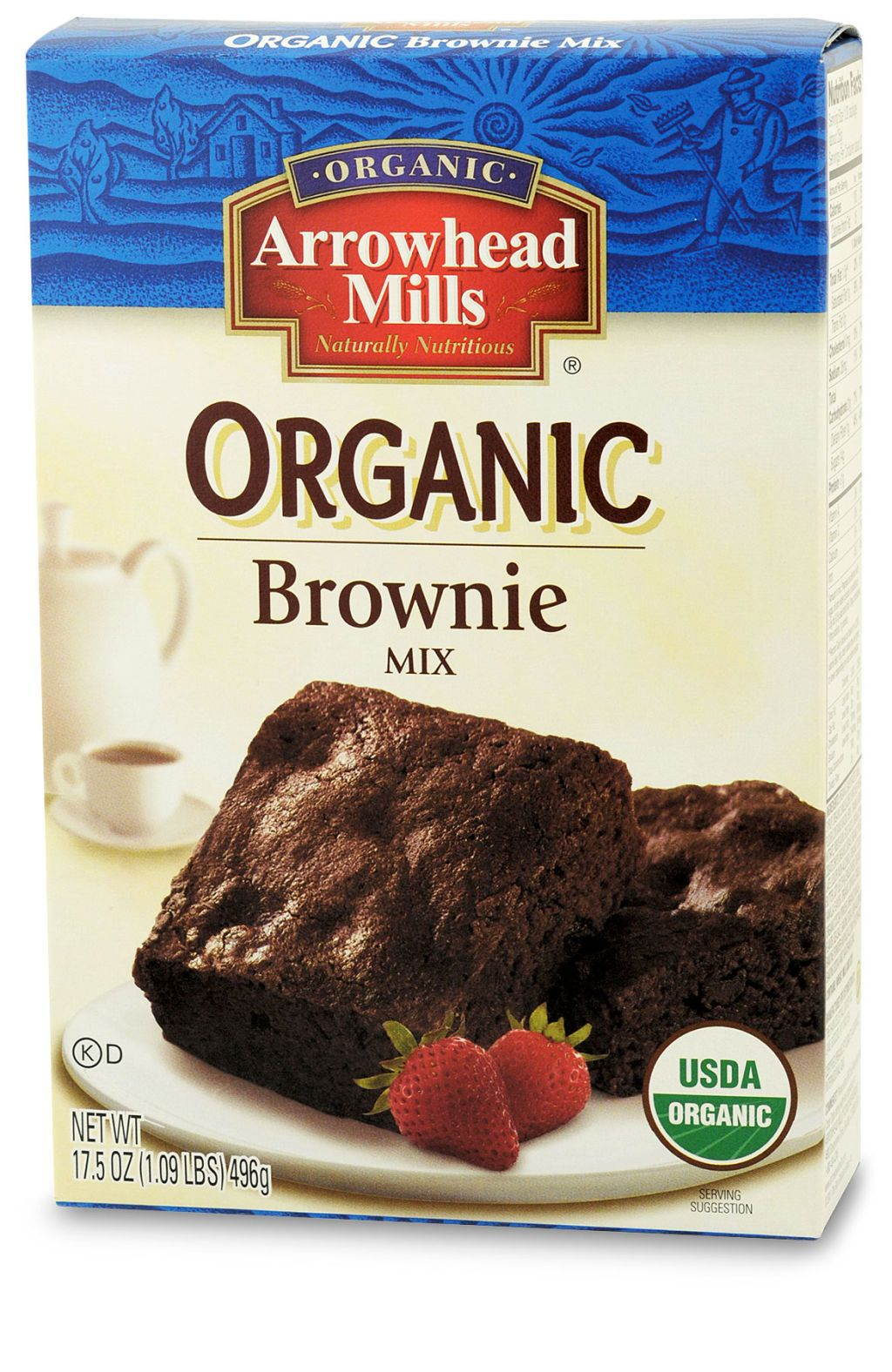 arrowhead mills organic brownie mix