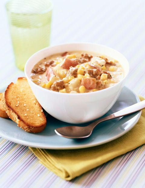 potato corn soup
