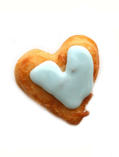 buttermilk glazed heart doughnuts