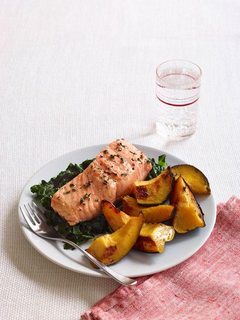 thyme roasted salmon