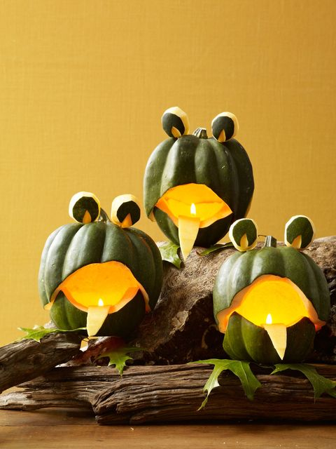 frog choir pumpkins