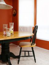 Take down drab drapes in your living room