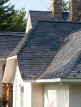 Recycled Rubber & Plastic Roofing Tiles