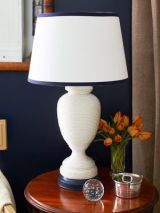 Nylon wrapped lamp