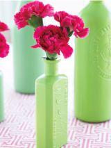 Carnations in a Bottle