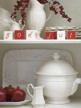 Wintery Dishware