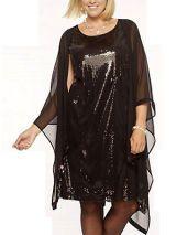 Sequin Sheath Dress