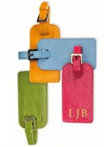 Brights Leather Luggage Tags