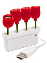 USB Tulip Hub from FredFlare.com