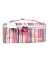 Modella Striped Cosmetic Bag