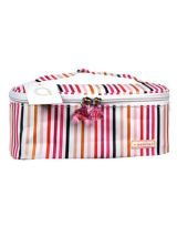Modella Striped Cosmetic Bag
