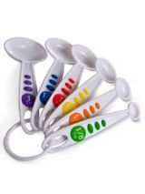 Curious Chef 6 Piece Measuring Spoon set from MySecretPantry.com