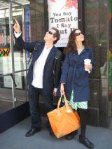 Annabelle Gurwitch and Jeff Kahn