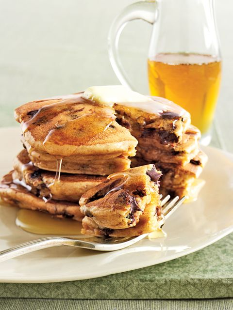 kid friendly recipes peanut butter chocolate chip pancakes