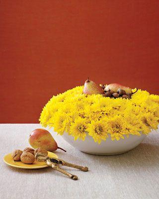 Flower-Filled Bowl