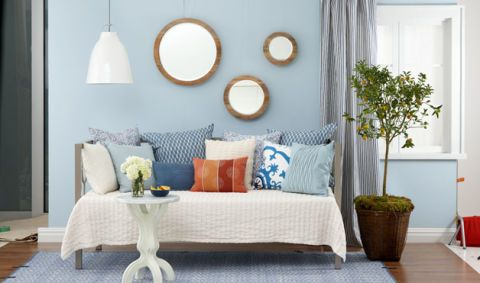 How To Decorate A Small Space With A Daybed At WomansDay Small Beauteous How To Decorate A Daybed With Pillows
