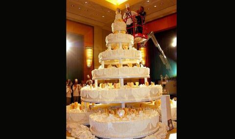 top 10 biggest wedding cake wedding cakes photos check out these creative wedding 21041