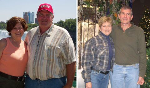 7 Weight-Loss Transformations: Couples Edition