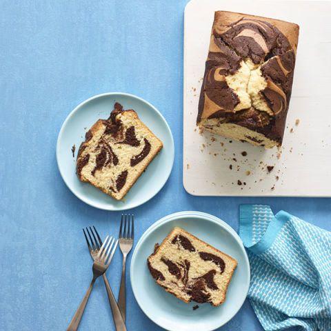 vanilla chocolate pound cake
