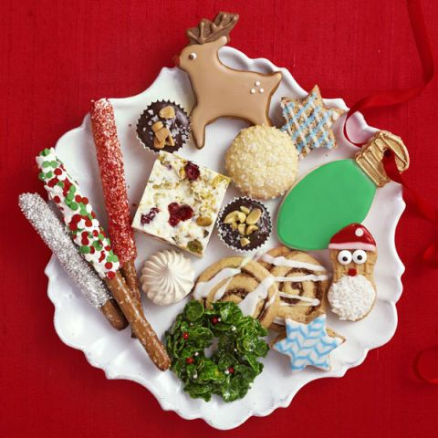 christmas treats platter