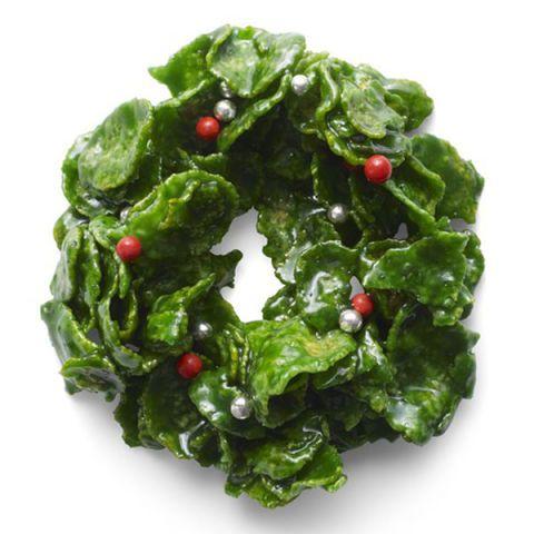 Crispy Cornflake Wreaths