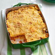 sausage and pepper polenta lasagna