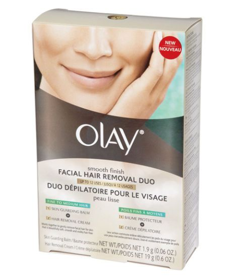 olay facial hair remover