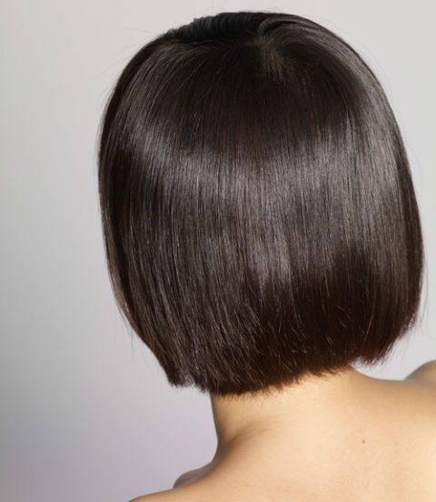 woman with a bob