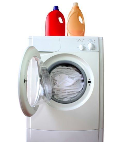 how to clean inside rubber of washing machine