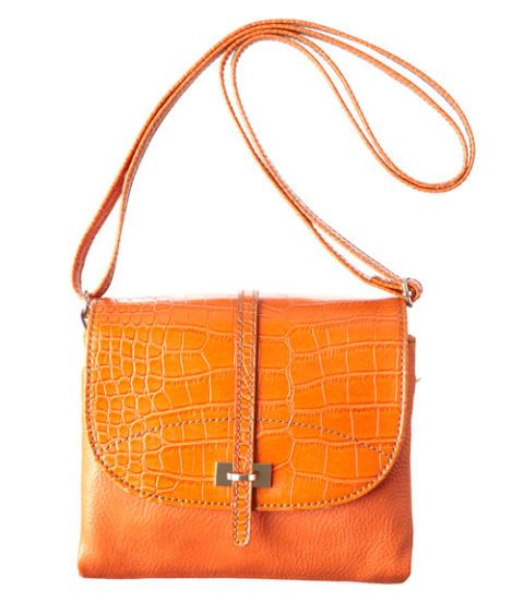 orange messanger-style bag