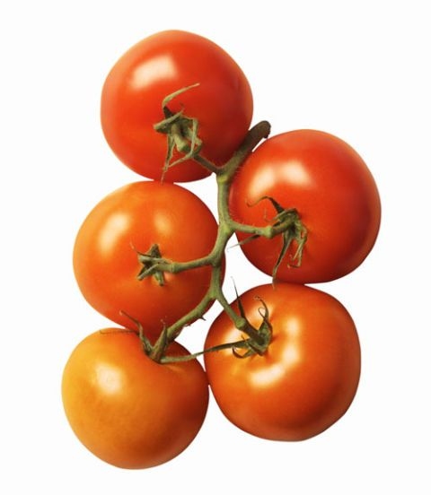 Big, round tomatoes are best.