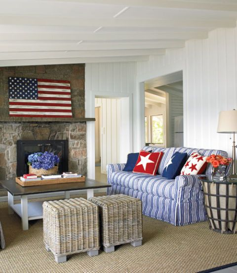 red and blue living room decor american home decor white and blue rooms 26092