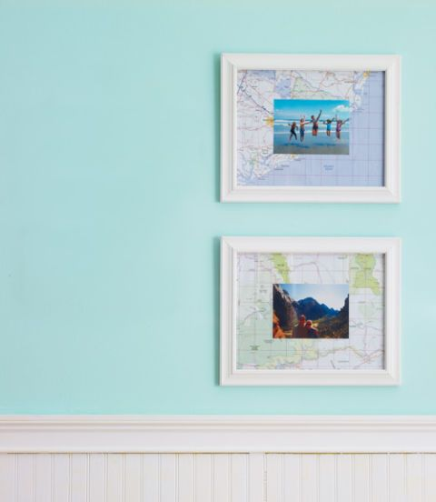 map matted photos