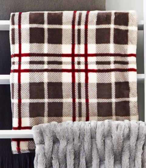 charter club plaid throw