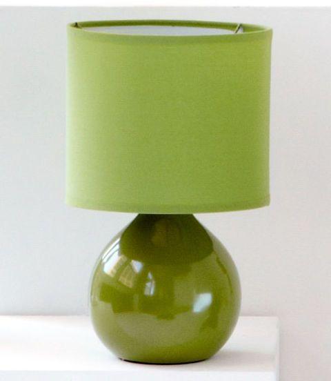 Dainolite Lighting 14-in Pistachio Table Lamp with Pistachio Shade