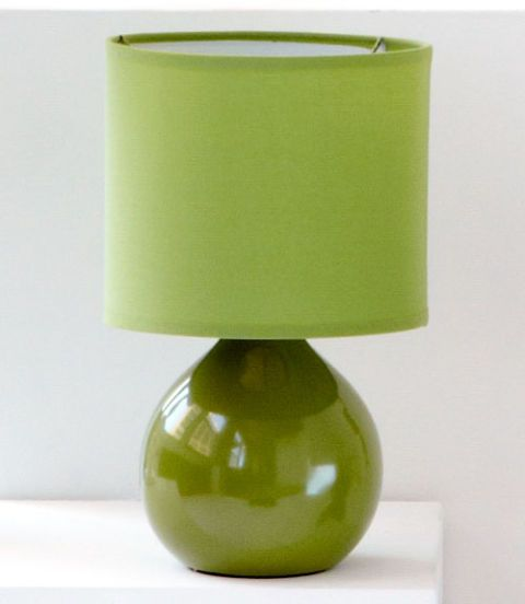 Dainolite Lighting 14-in Pistachio Table Lamp with Pistachio Shade
