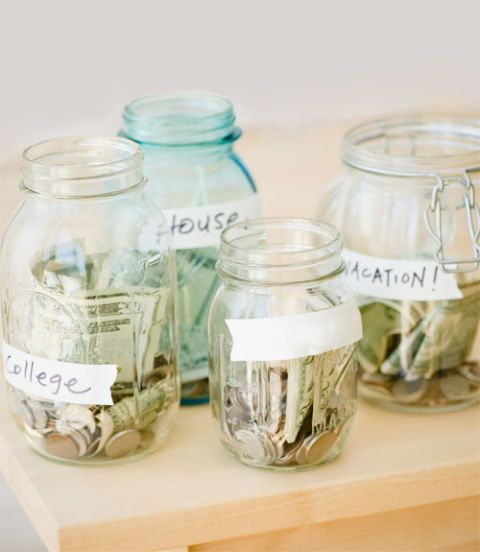 jars of money