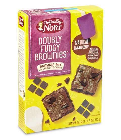naturally nora doubly fudgy brownies