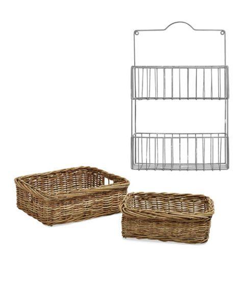 ashton rattan baskets