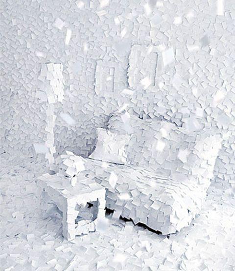 post it winter room